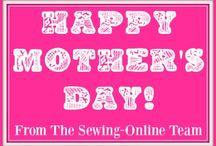 Mother's Day Sewing / Sewing ideas for Mother's Day Gifts.