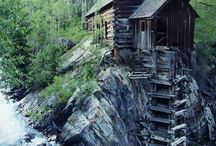 Cottage,Cabins and Barns