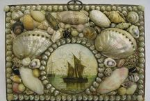 Shell art and memory jugs / by Dorothy McKillop