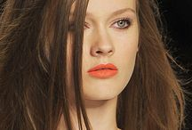 Trends - orange lips / could orange be the new red?  from bold to soft tones orange lips are all the rage.