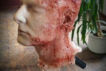 Dummy silicone head