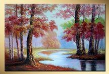 paisajes al oleo