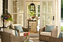 Adorable porches...
