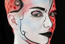 Bodypainting / Bodypaintings mit Senjo-Color Farben
