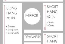 Cupboard layouts