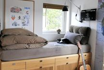 Compact Living / For when you needfun and unique ways of utilising the space in your home.