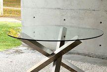 Mesas com tampo madeira rustica