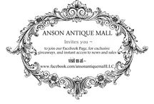 ANSON ANTIQUES & GIFTS / A wonderful boutique brimming with antiques, refinished, reusable and refined artifacts from furniture to hardware to trinkets!   located in the heart of Anson, Texas, USA