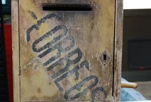 VINTAGE ~ OLD ~ MAIL BOX