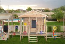 Play areas outside  / Play areas outside