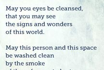 S M U D G I N G / Smudging Ceremonies for Cleansing + Healing