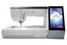 Janome Embroidery Machines / Current Janome Embroidery Machines available