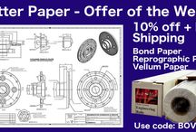 Plotter Paper Week / 10% discount on all plotter papers