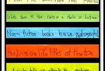 Kindergarten Literacy - fiction and nonfiction