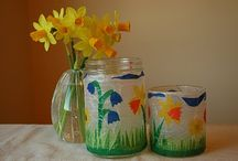 Spring Crafts / by Merrily Me