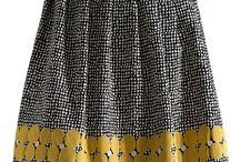 skirts & yellow