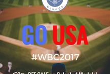 GO USA- World Baseball Classic / Social Media Post in support of the USA Baseball Team
