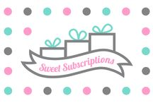 Sweet Subscriptions - Launch 2015 / Sweet Subscriptions was born out of the idea that we wanted to provide monthly sweet treats to people with specific dietary requirements, still be fun and cost effective.