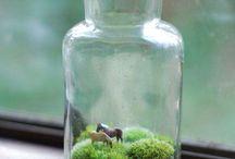 ezüst mini ló