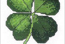 vyšívání - rostliny