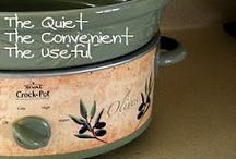 """While I sleep""-quiet cooking crockpot"
