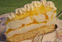 tvarohove torty,koláče