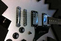 custom guitars / jdaveyguitars.com #custom #guitars form J Davey. Showcased on his website by Letsweb Ltd.