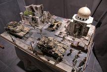 Irak Diorama