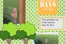 Digiscrap: My Work / A gallery of my digital layouts.