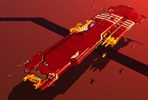 concept art _ sf spaceships