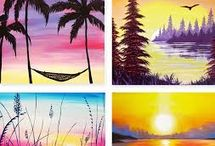 Wine and Paint night ideas