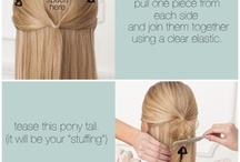Hair and makeup tricks / by Laura Blevins