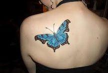 tatuajes de mariposas / by Jacqueline Gonzalez