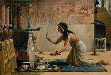 Goddess & Priestess Art (Diosas y sacerdotisas)