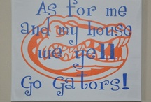 Go Gators / by Kristie Luther