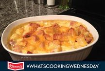 What's Cooking Wednesday Recipes