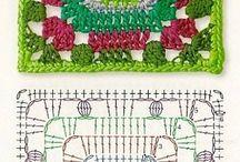 crochet ideas / Crochet Tops, tut's ans patterns