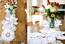Doily Makeovers / by Wanda Redden