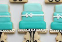 Wedding/Bridal cookies