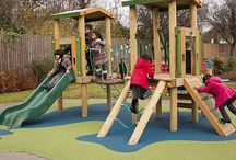 Equipment for Schools / Transforming School Playgrounds with Timber Multi Play Equipment!