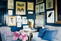 Gallery wall inspiration / by Holly Marcus
