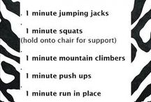 Exercise without equipment