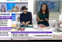 Create & Craft USA - links to show videos / Links to live Trimcraft shows on Create & Craft TV and Create & Craft USA.