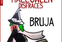 Vocabulario Halloween español / Aprender palabras fiesta halloween en español - español intermedio. Disfraces halloween y decoración halloween