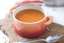 Eten soep
