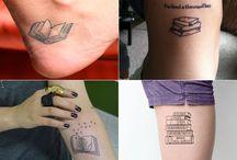 Tattoos de Livros