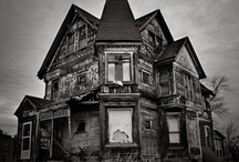 Dark and/Or Abandoned.......Old, Spooky, Houses, and Places..... / A Board Dedicated to the Old, Dark, Spooky Homes, Mansions, Churches, and other such places..... / by Lori