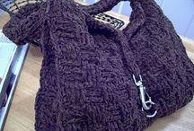 crochet - bags / by Kristine Dawn Atkins