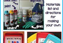 Homeschooling: Spelling Activities