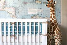 Boy bedroom inspiration / by Sandee Howard